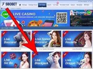 cara main live blackjack