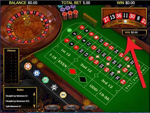 meja roulette classic