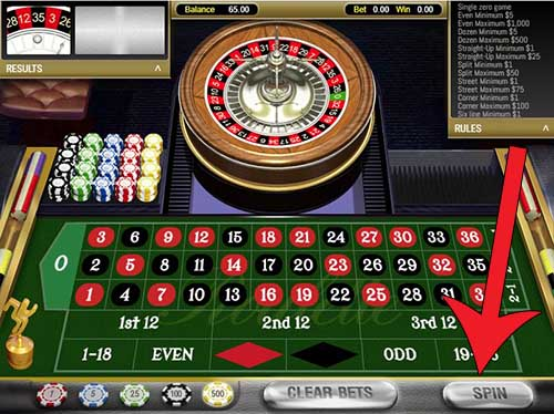 meja roulette royal casino